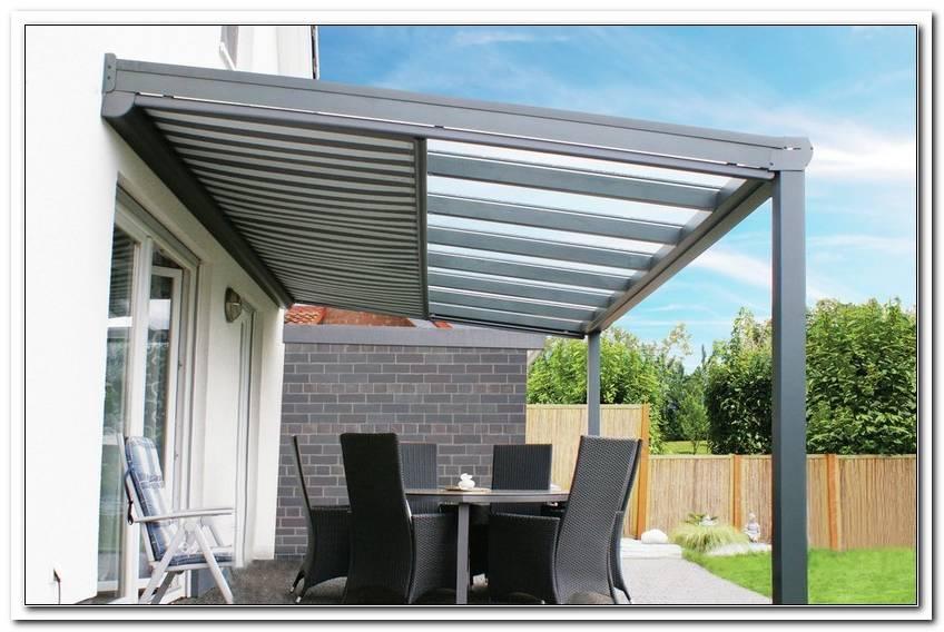 Sonnenschutzrollo Terrassendach