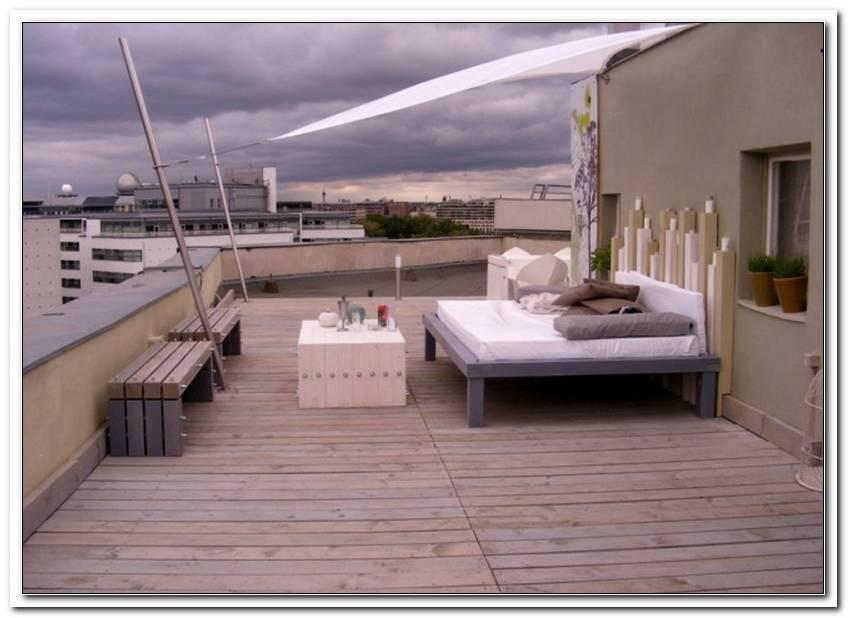 Sonnensegel Terrasse Pfosten