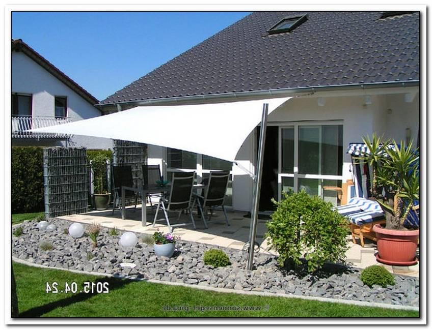 Sonnensegel Terrassen?Berdachung