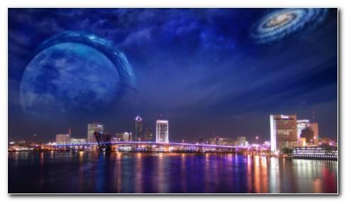Space Art HD wallpaper