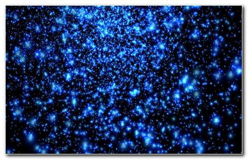 Space Particles HD Wallpaper