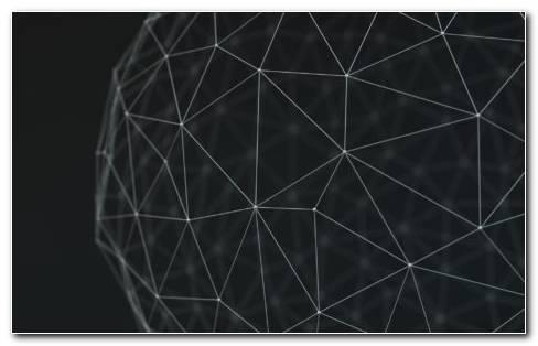 Spherical Polygon HD Wallpaper