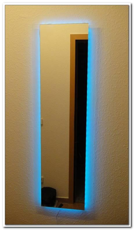 Spiegel Mit Beleuchtung Selber Bauen