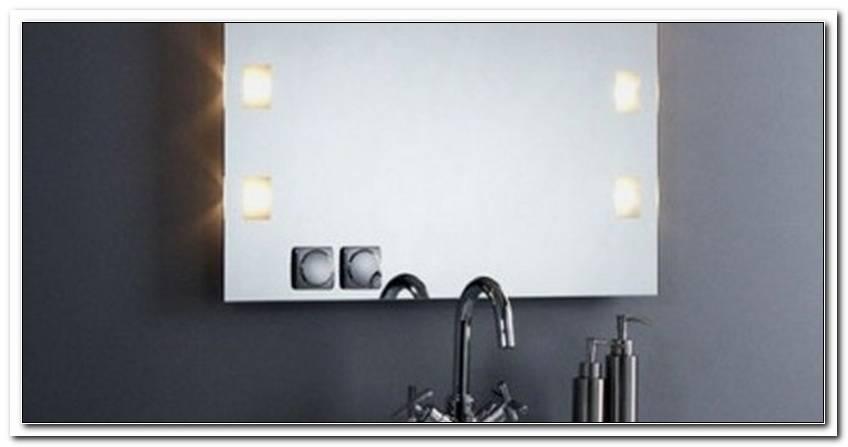Spiegel Mit Steckdose Und Beleuchtung