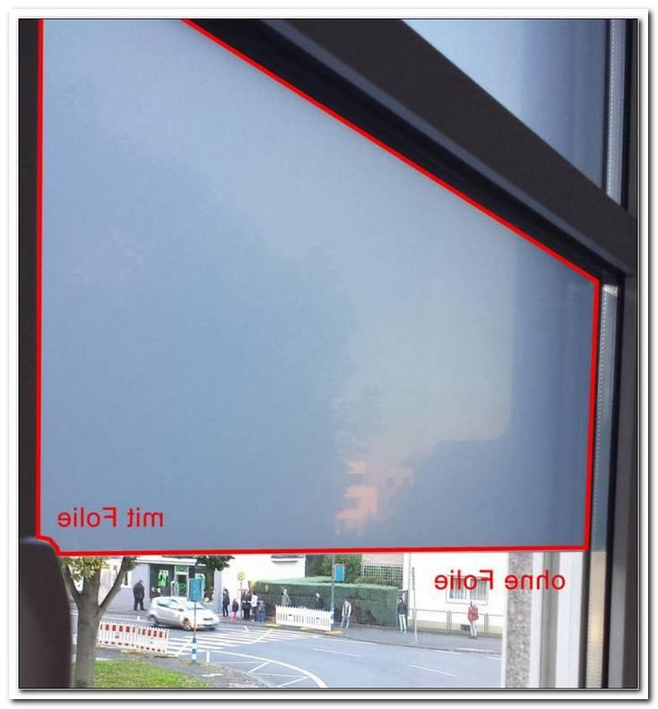 Spiegelfolie Fenster Erfahrung