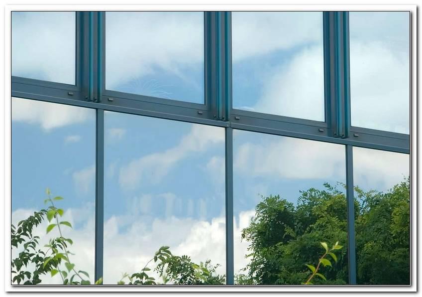 Spiegelfolie Fenster Sichtschutz Test