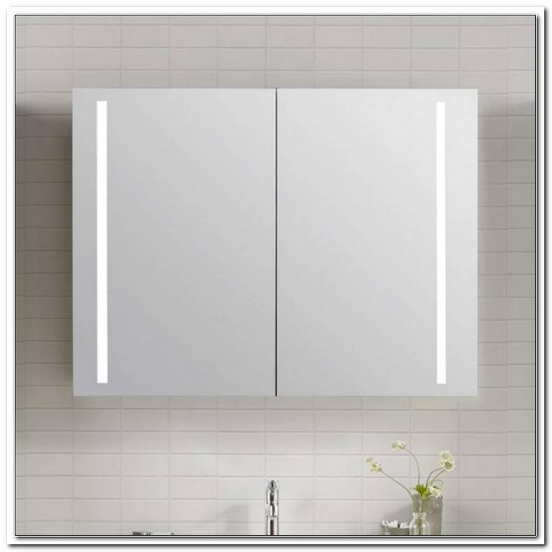 Spiegelschrank Mit Beleuchtung 90 Cm