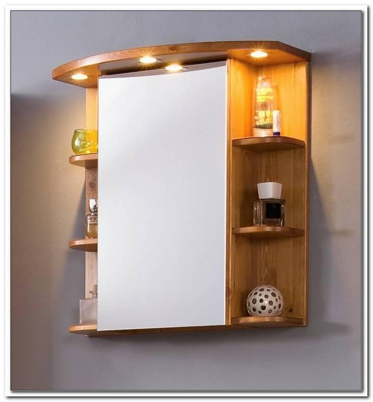 Spiegelschrank Mit Beleuchtung Holz