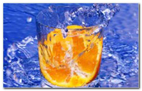 Splashy Orange HD Wallpaper