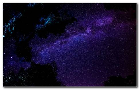 Splendid Night Space HD Wallpaper