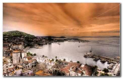 Split Croatia HD wallpaper