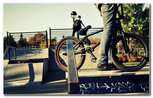 Sports BMX Bike HD Wallpaper