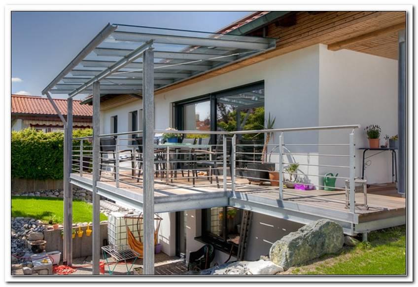 Stahlkonstruktion Terrasse