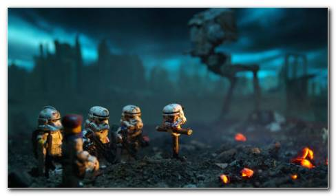 Star Wars Lego HD Wallpaper