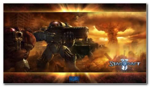 Starcraft 2 Terran HD Wallpaper
