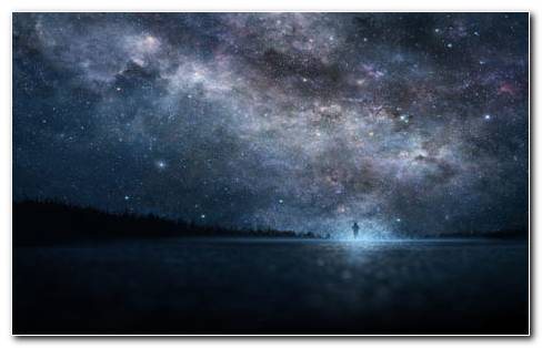 Starry Sky Photography HD Wallpaper