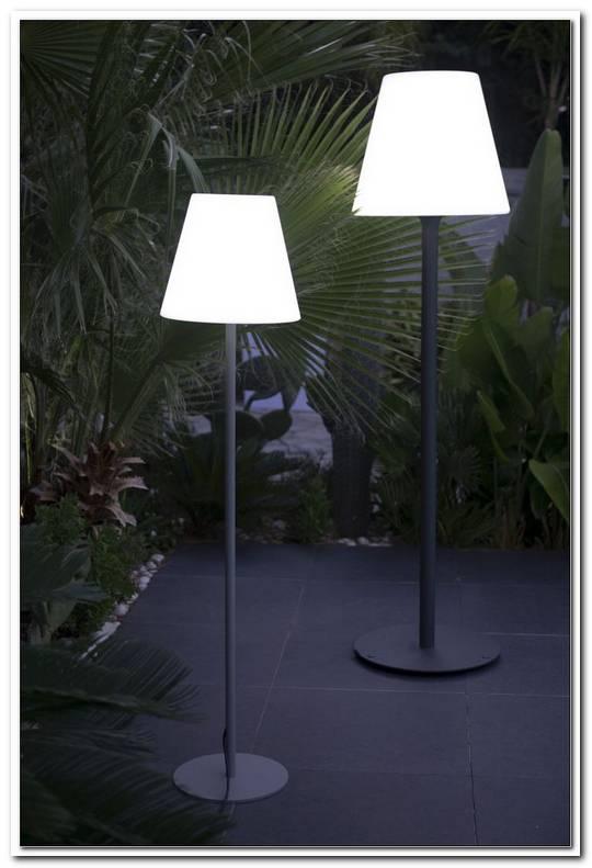Stehlampe Terrasse