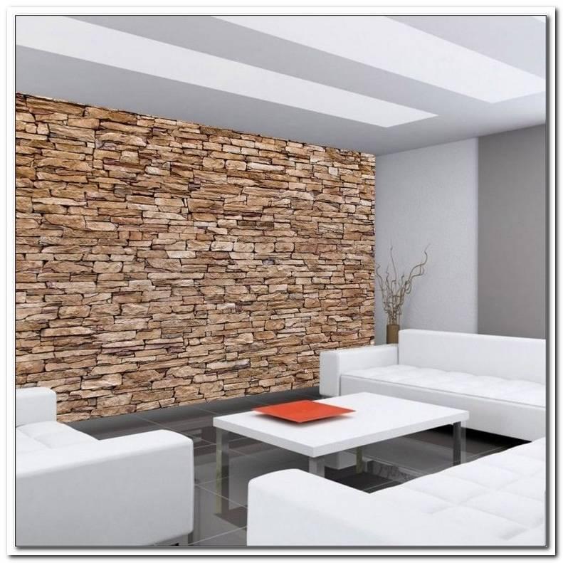 Steinoptik An Der Wand