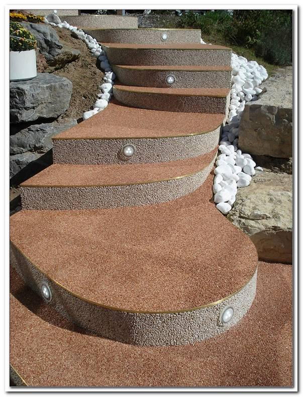 Steinteppich Terrasse Nachteile
