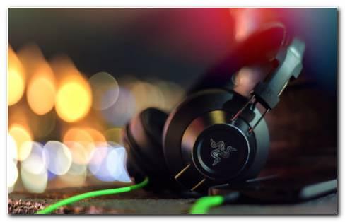 Stereo Headphones HD Wallpaper