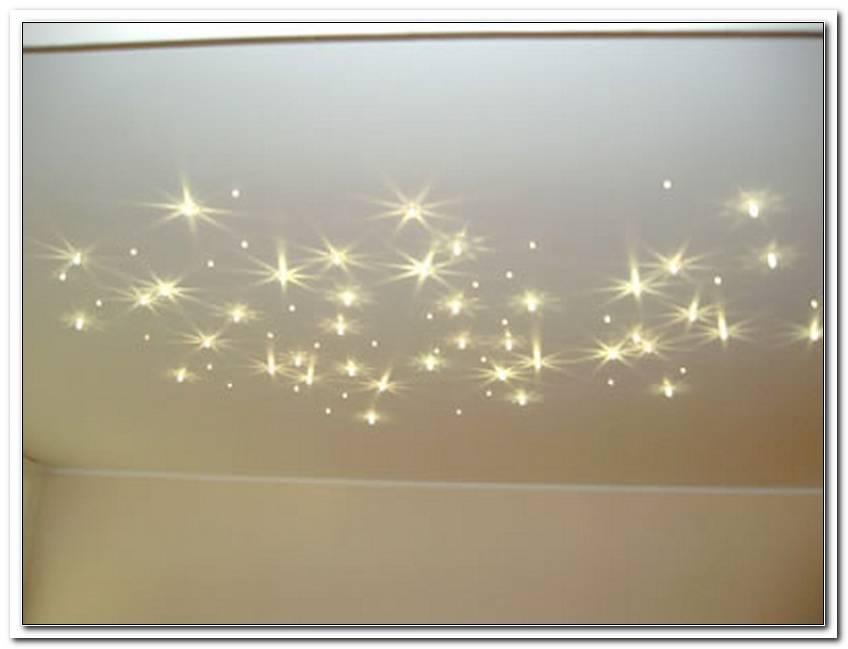Sternenhimmel Beleuchtung Decke