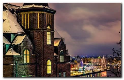 Stockholm City HD Wallpaper