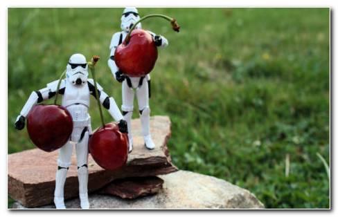 Stormtrooper toys HD wallpaper