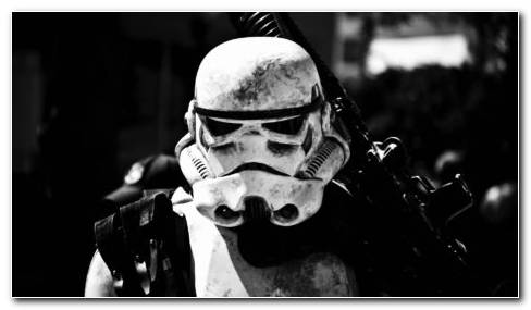 Stormtrooper White Toys HD Wallpaper
