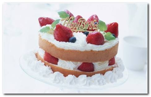 Strawberry Cake Images HD Wallpaper