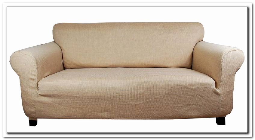 Stretch Husse Sofa Grau