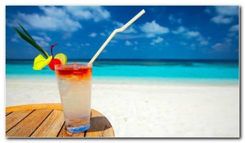 Summer Cocktails HD Wallpaper