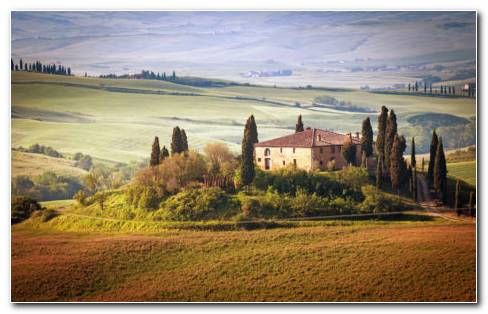 Summer Of Tuscany Italy HD Wallpaper