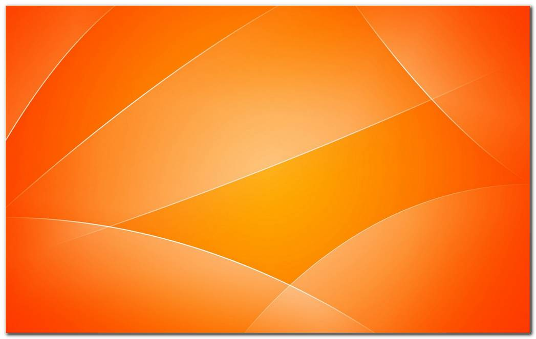 Sunny Orange Background Wallpapers