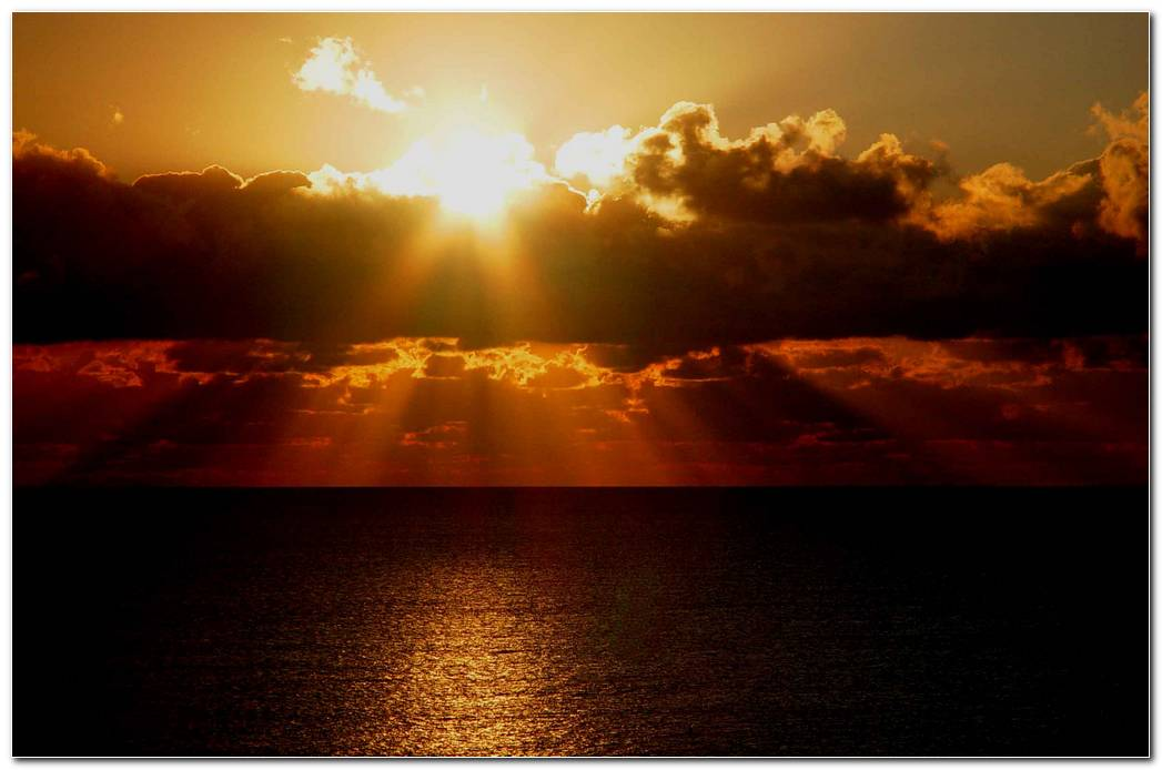 Sunrise And Sunset Nature Wallpaper Background Cool