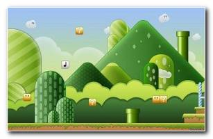 Super Mario Level Wallpaper 1680 X 1050