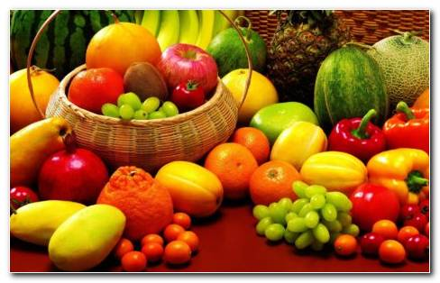 Tasty fruit collection HD wallpaper