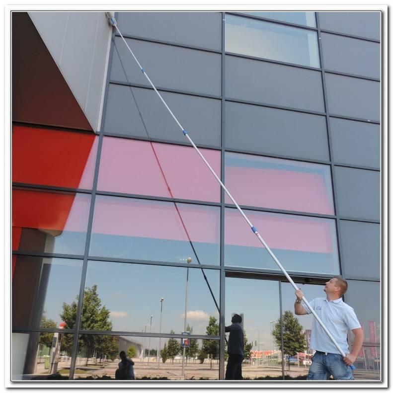 Teleskopstange Fenster Putzen