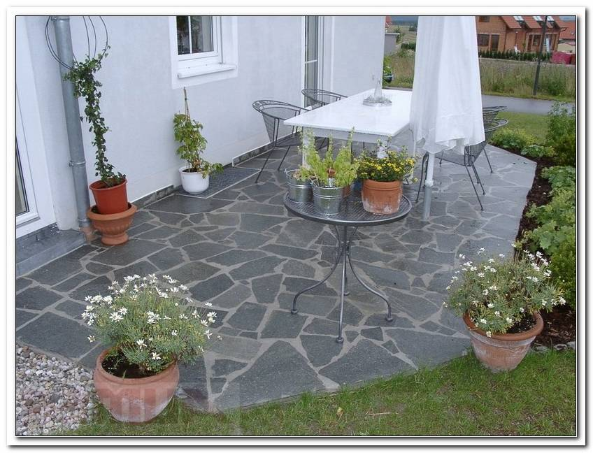 Terrasse Aus Stein