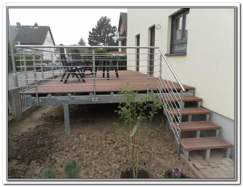 Terrasse Bauen Stahl