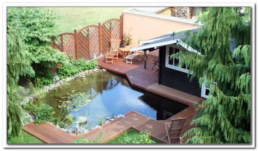 Terrasse ?Ber Teich Bauen