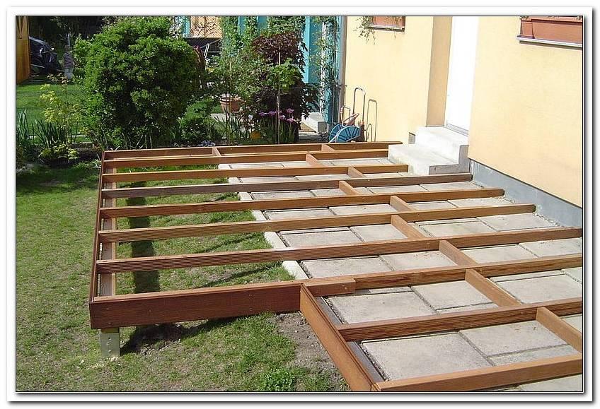 Terrasse Erweitern