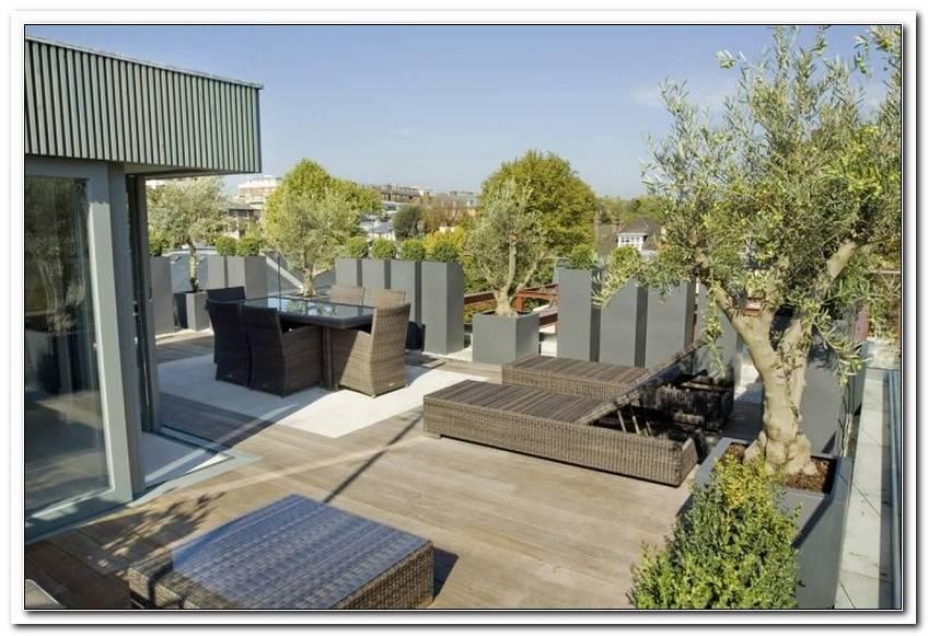 Terrasse Gestalten Sichtschutz