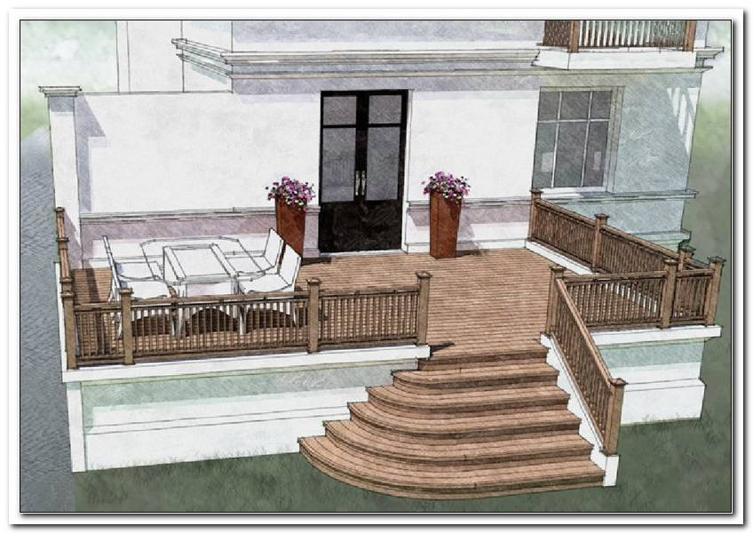 Terrasse Hoch Bauen
