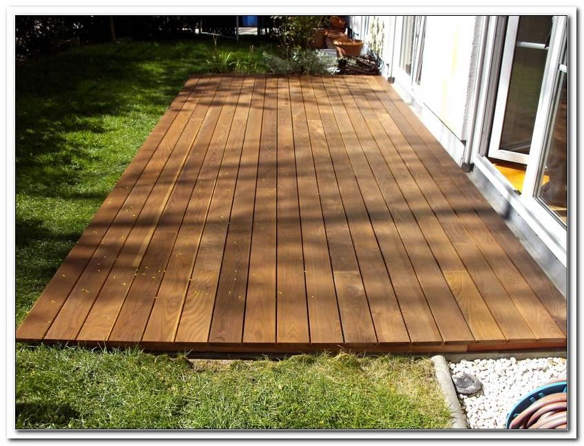 Terrasse Holz Verlegen Lassen