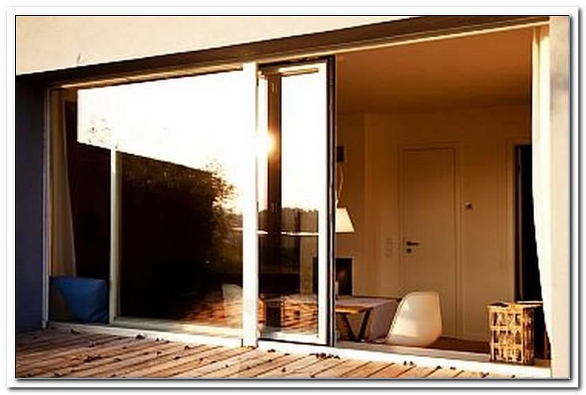 Terrasse Schiebefenster