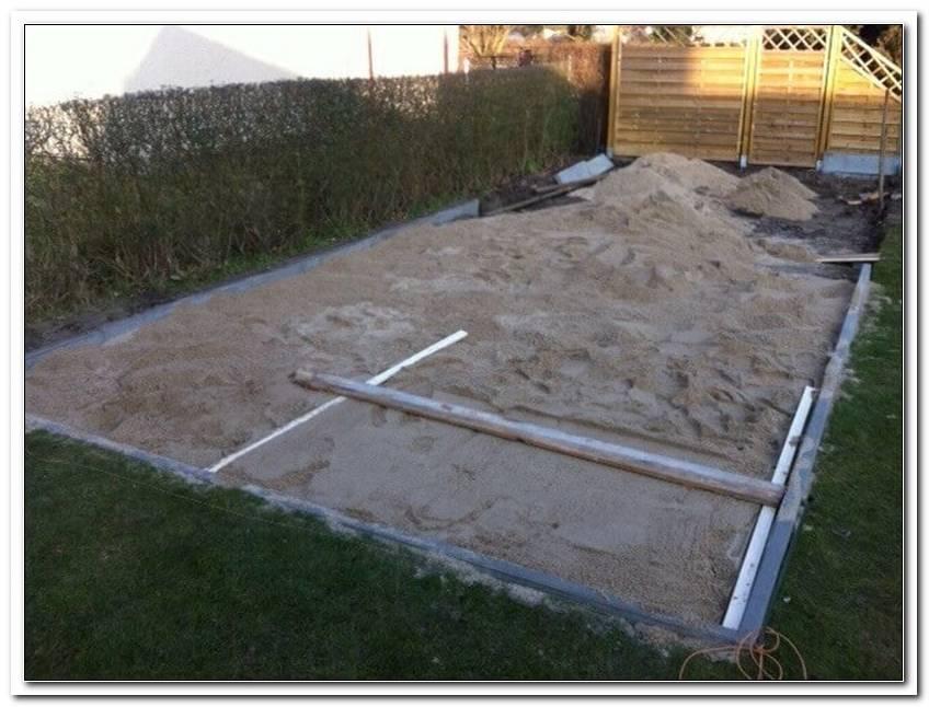 Terrasse Selber Bauen Stein