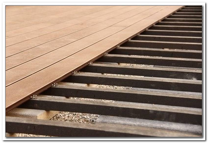 Terrasse Selber Bauen Wpc