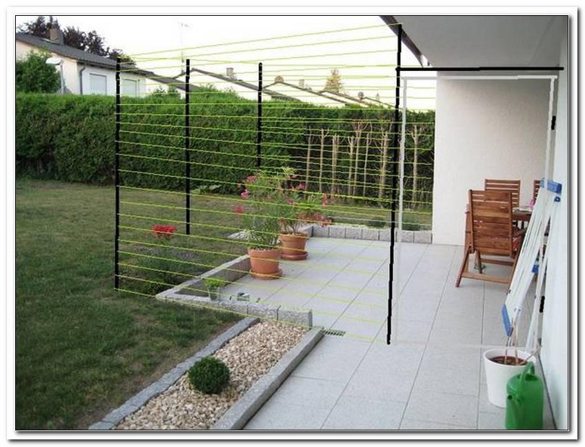 Terrasse Sichern
