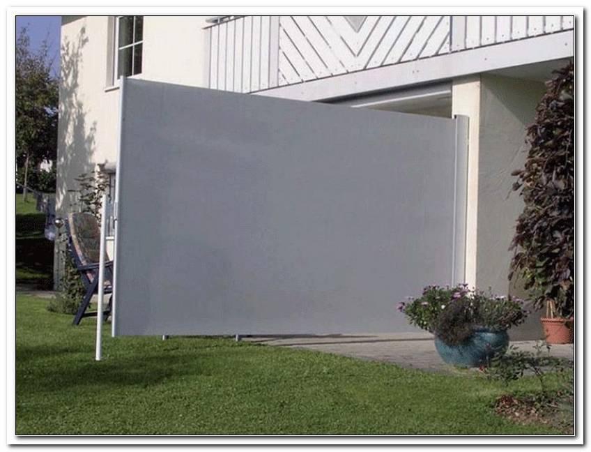 Terrasse Sichtschutz Stoff
