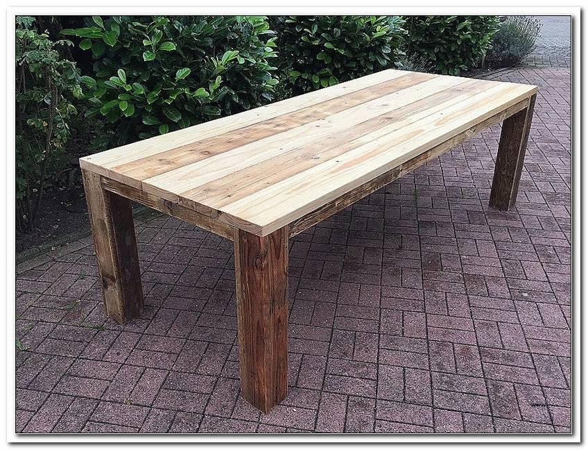 Terrasse Tisch Selber Bauen